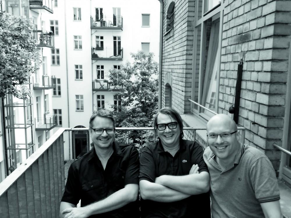 Thomas Winkler, Sven Regener und Jan OberländerFoto: Zitty