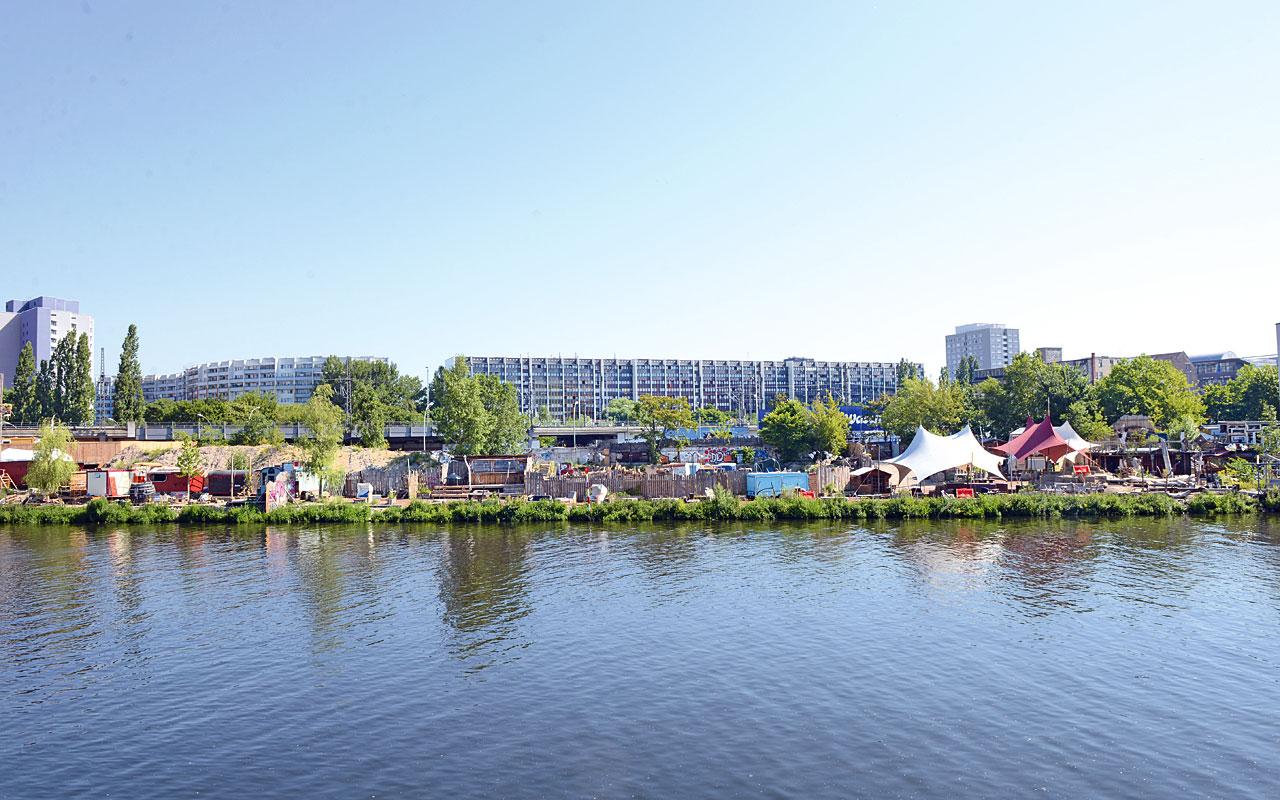 Das Holzmarkt-GeländeFoto: Lena Ganssmann