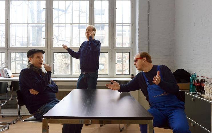 v.l.n.r. Maurice Summen, Maurice Summen, Maurice Summen Foto: Lena Ganssmann