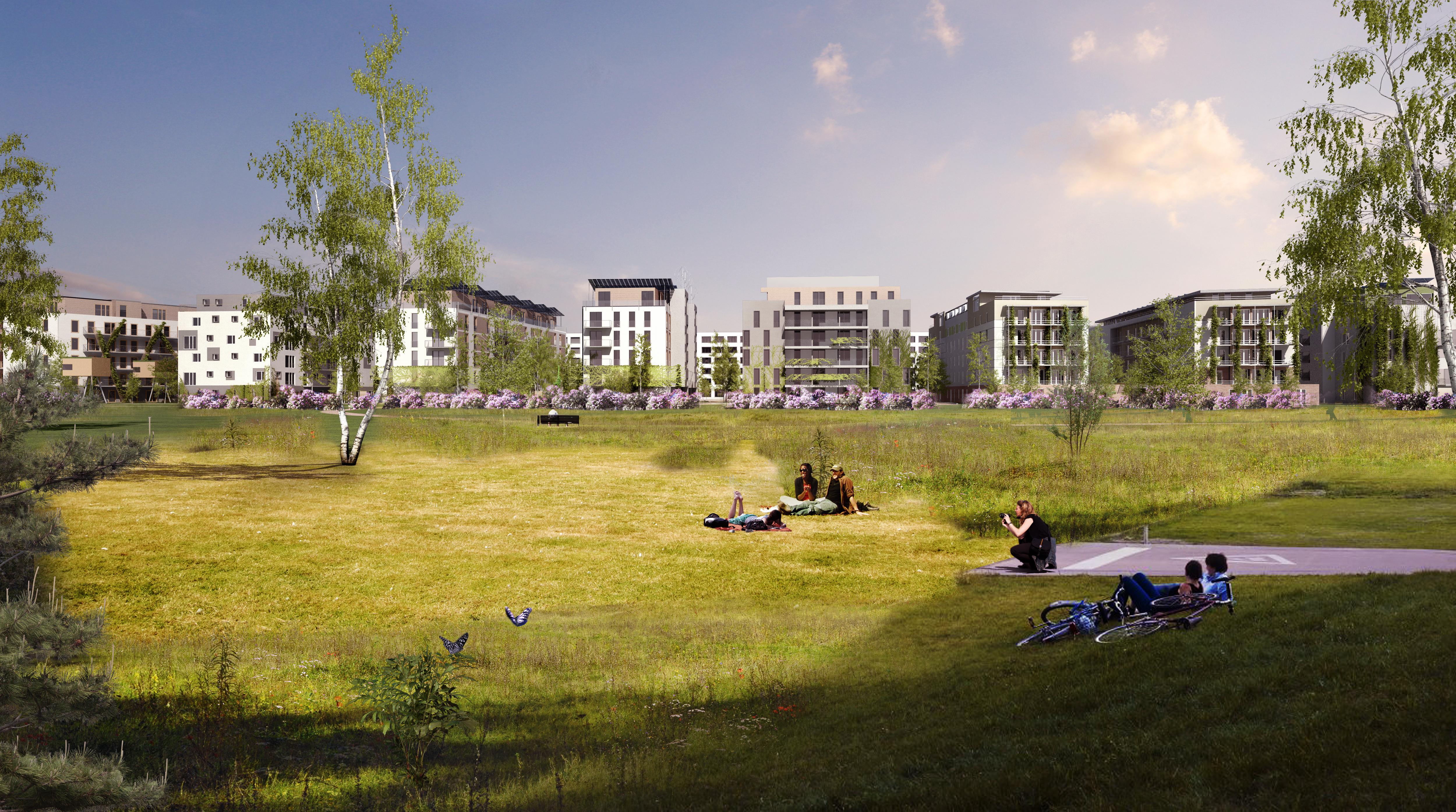 Schöne, neue Welt: Günstig wohnen am Rande des neuen Gleisdreieck-Parks, das sollte so einfach sein