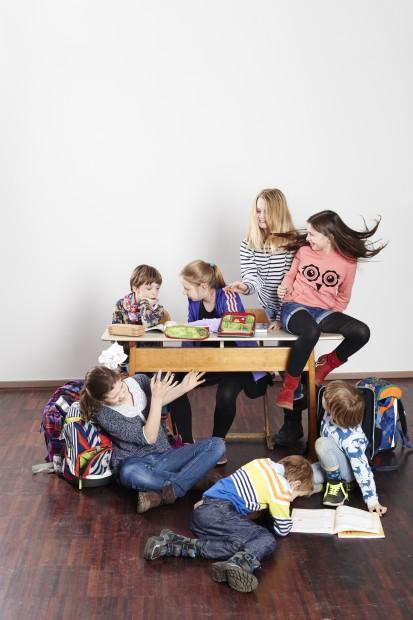 in Berliner Schulen