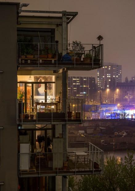 Im Bauprojekt Spreefeld in Mitte gibt es flexible Grundrisse: die Wohnungen passen sich den Lebensumständen ihrer Bewohner anFoto: Andreas Trogisch / Projekt: die Zusammenarbeiter Gesellschaft von Architekten mbH