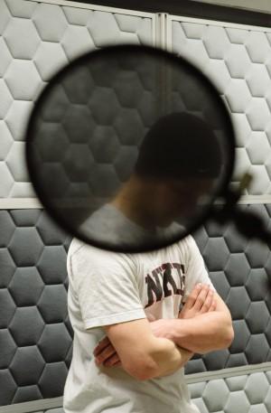 Das Radio ist für die DJs eine Flucht aus der Monotonie hinter den MauernFoto: Lena Ganssmann
