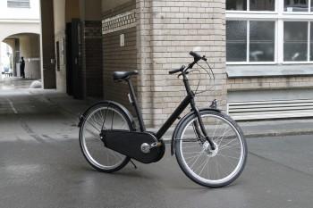 Unser schönes neues Fahrrad