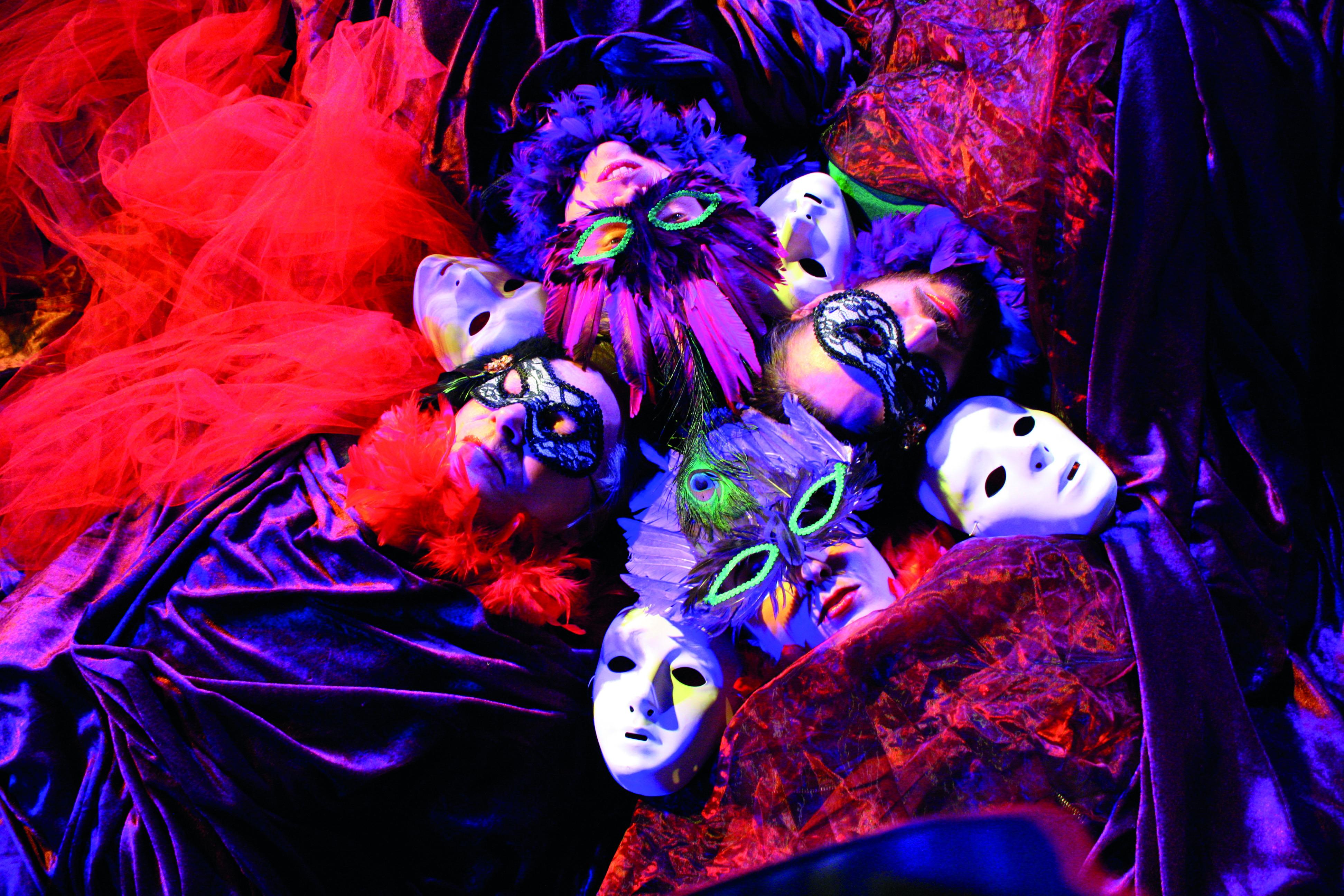 Raus aus der Maske: Diseusen der 20er-Jahre – Foto: Theater Größenwahn