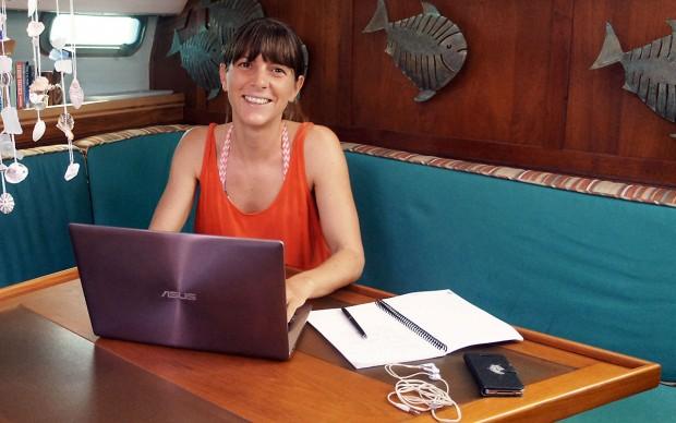 Mittagspause in der Karibik: Susanne Müller-SeidelFoto: privat