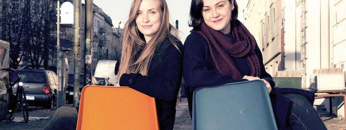Ellen Härtel (li.) und ihre Tandempartnerin Raya Kolchakova Foto: Christian Stumpp