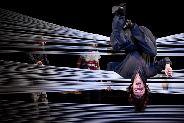 Eindringlich: Maximilian Paier als Linus – Foto: Arno Declair