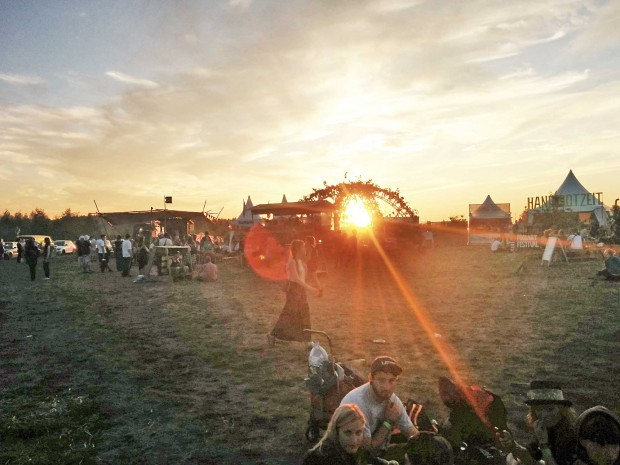 Auf dem Artlake-Festival