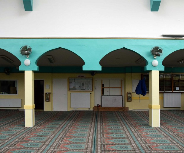 In der Al-Nur MoscheeFoto: Sascha Lübbe