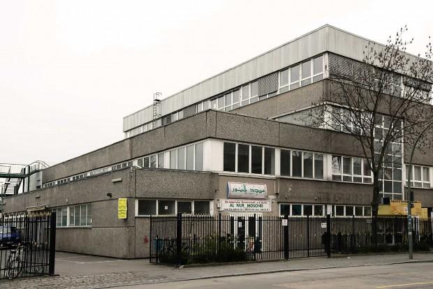 Die Al-Nur-Moschee in der Neuköllner Haberstraße 3: ein trostloser Betonklotz als Hort der Radikalen?