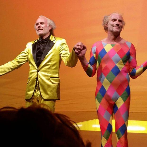Der doppelte Herbert. Oder der doppelte Wolfram? – Foto: Friedhelm Teicke