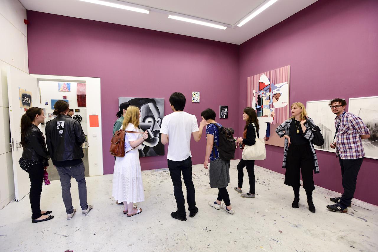 Rundgang Tag der offenen Tür 2015, Kunsthalle Weissensee. Foto: Franziska Libuda/ KHS Weißensee