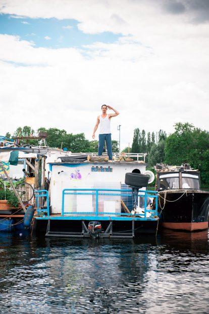Hausfährboot, Pirat Woody, Spree, Rummelsburger Bucht