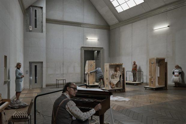 Leise singen mit Jürg Kienberger (vorne) – Foto: Walter Mair