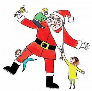 Heinzelmännchen Weihnachtsmann