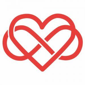 Ein Herz, kombiniert mit dem Unendlichkeitszeichen: Nicht für nie endende Liebe, sondern für Polyamorie – die Liebe zu Vielen – steht dieses SymbolIllustration: ZITTY