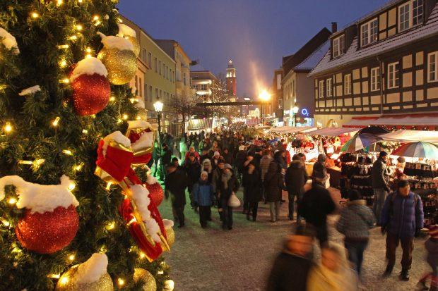 Weihnachtsmarkt in Spandau