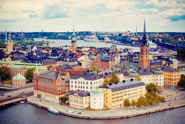 Einen Lauf mit Tradition und sehenswertem Umfeld bietet der Halbmarathon von Stockholm.Foto: fotolia.com | © Veronika Galkina