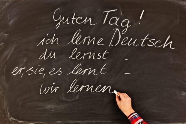 """""""Lerne ich Deutsch."""" Klingt falsch? Im Kiezdeutschen allerding ein ganz normaler Satz. Auch im Standarddeutschen sind solche Konstruktionen teilweise zu beobachten. Bildquelle: www.fotolia.com © Ingo Bartussek (#105726265)"""