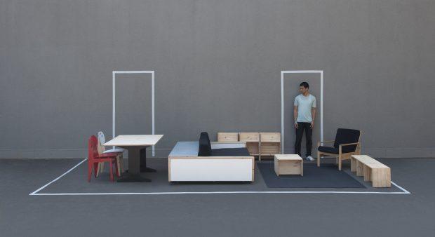 """Van Bo Le-Mentzel: """"Hartz IV-Wohnung."""" Privatbesitz. Foto: Daniela Gellner"""