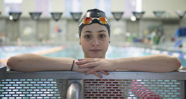 Yusra MardiniFoto: Mirko Seifert Sportfotografie