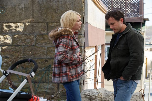 Randi (Michelle Williams) und Lee (Casey Affleck) in Manchester by the Sea  Foto: UPI / Claire Folger / Courtesy of Amazon Studios