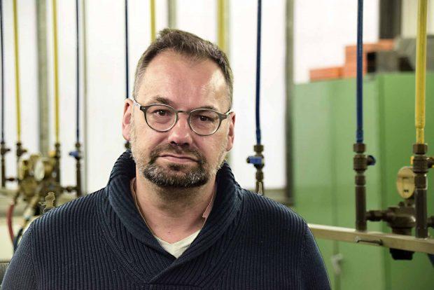 Frank Haase, 50 Leiter Recruiting bei den Berliner WasserbetriebenFoto: Sascha Lübbe