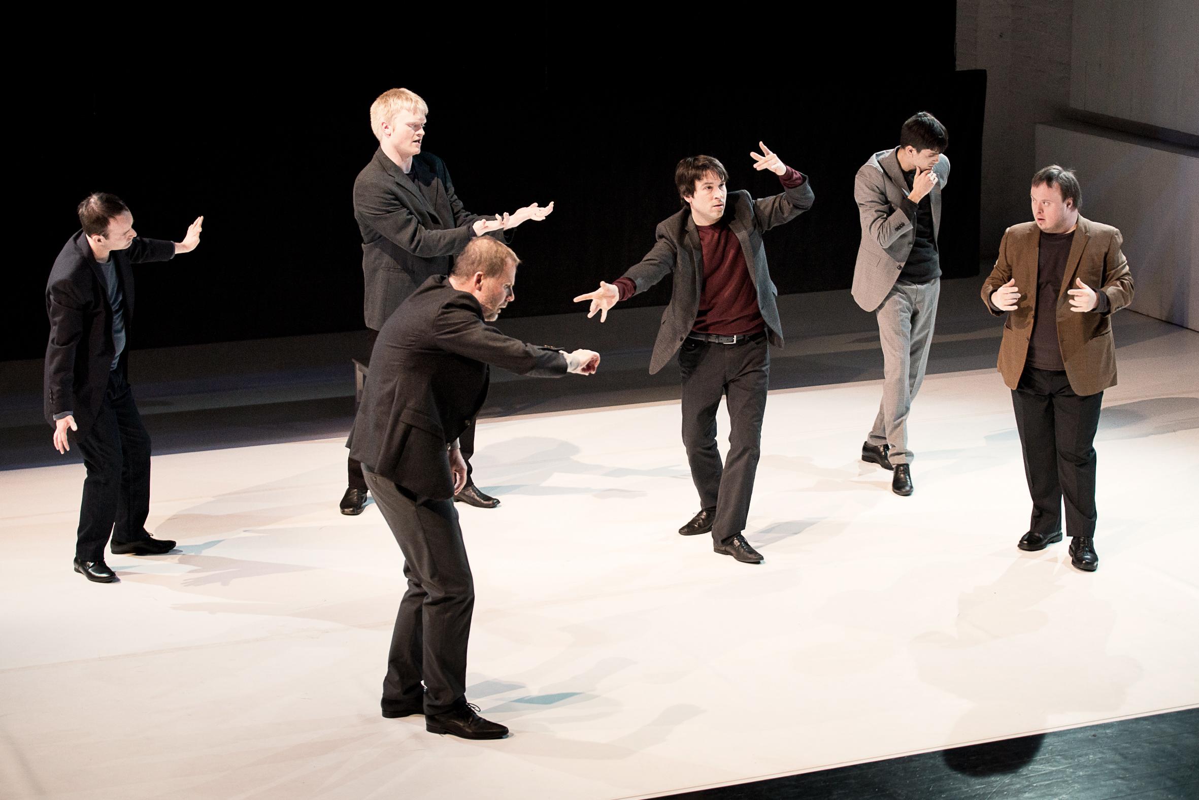 Beredt: Choreografie aus Gebärdensprache – Foto: Florian Krauss