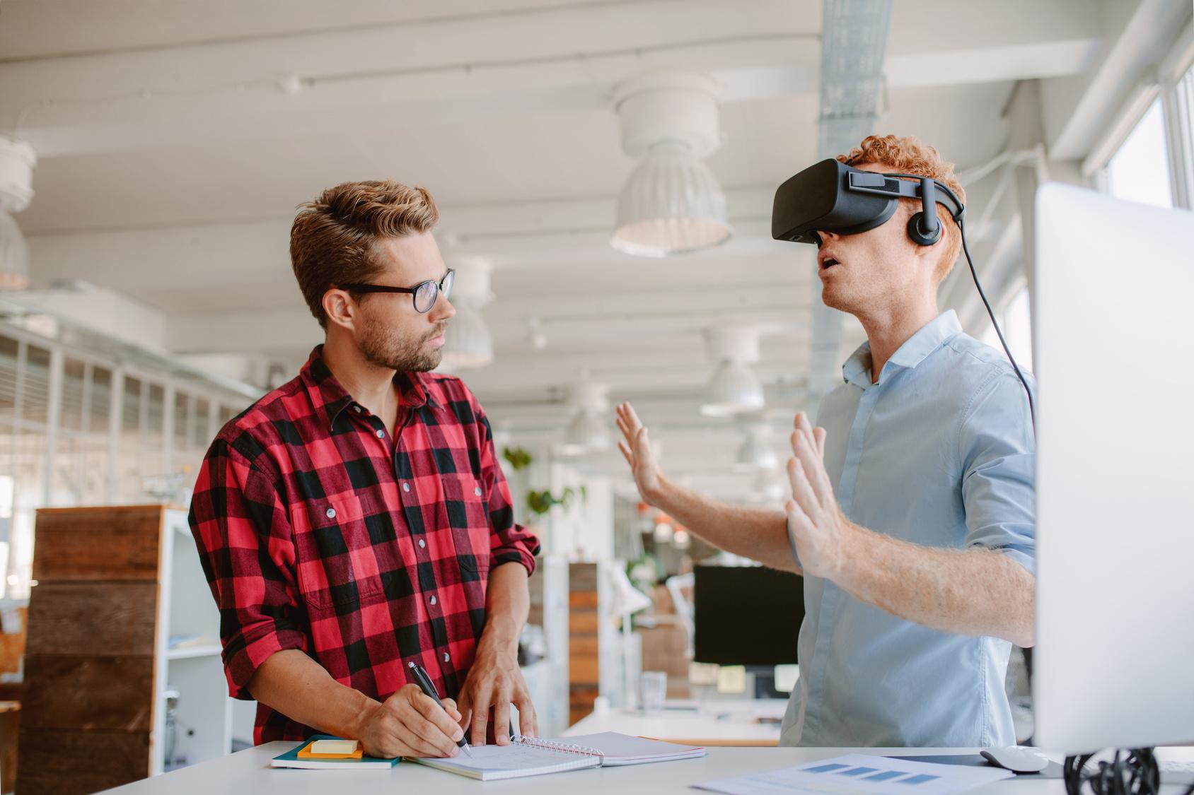 Neue Technologien im digitalen Bereich beleben vor allem dem Markt im Bereich Software und Gaming. In diesem Sektor ist ein überdurchschnittliches Wachstum zu verzeichnen.  Bild: Fotolia, © Jacob Lund