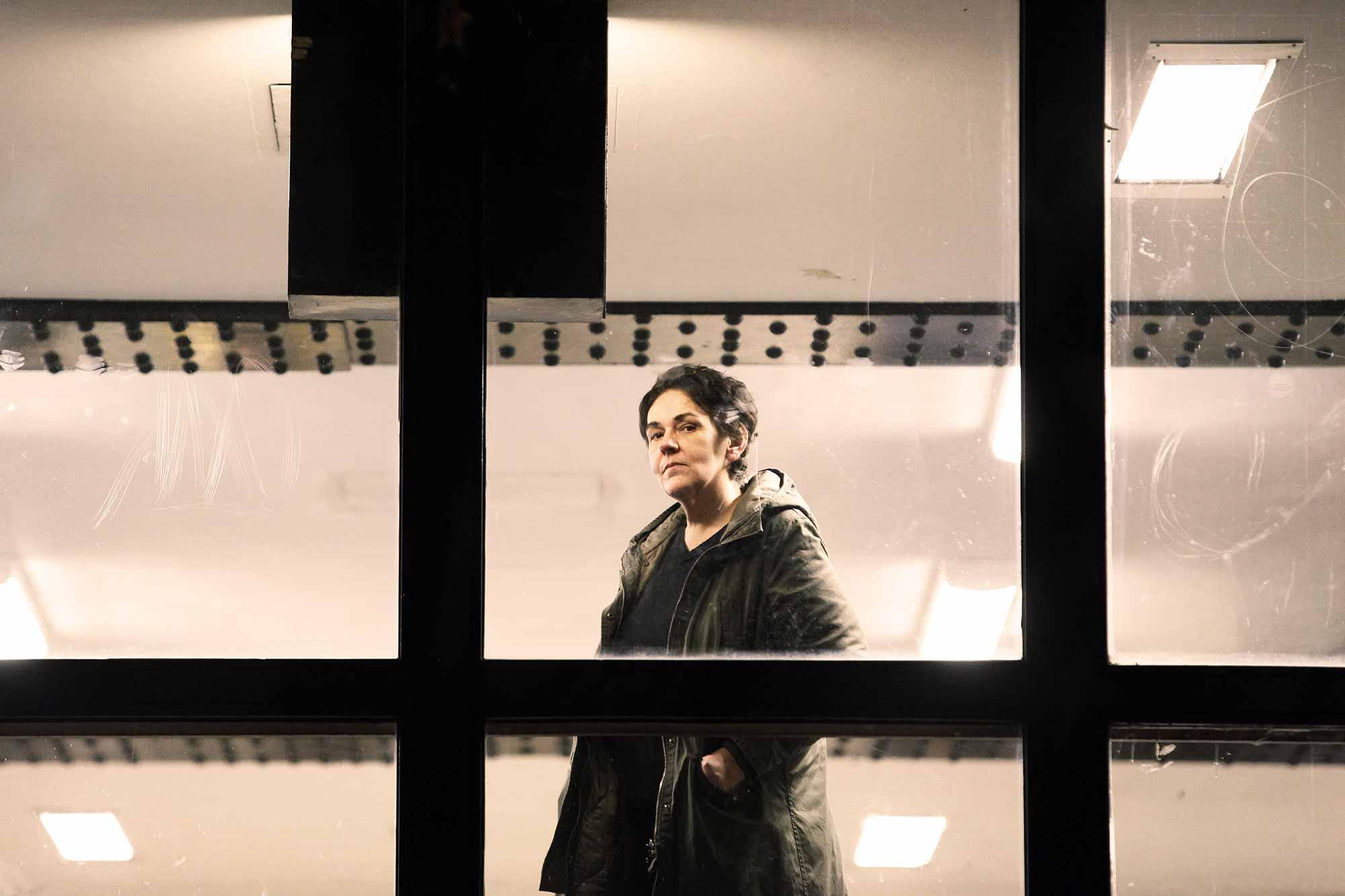 Blick aus dem Eigentumsloft mit Panoramafenstern? Nee, das käme Frau Rösinger nicht in die TüteFoto: Promo