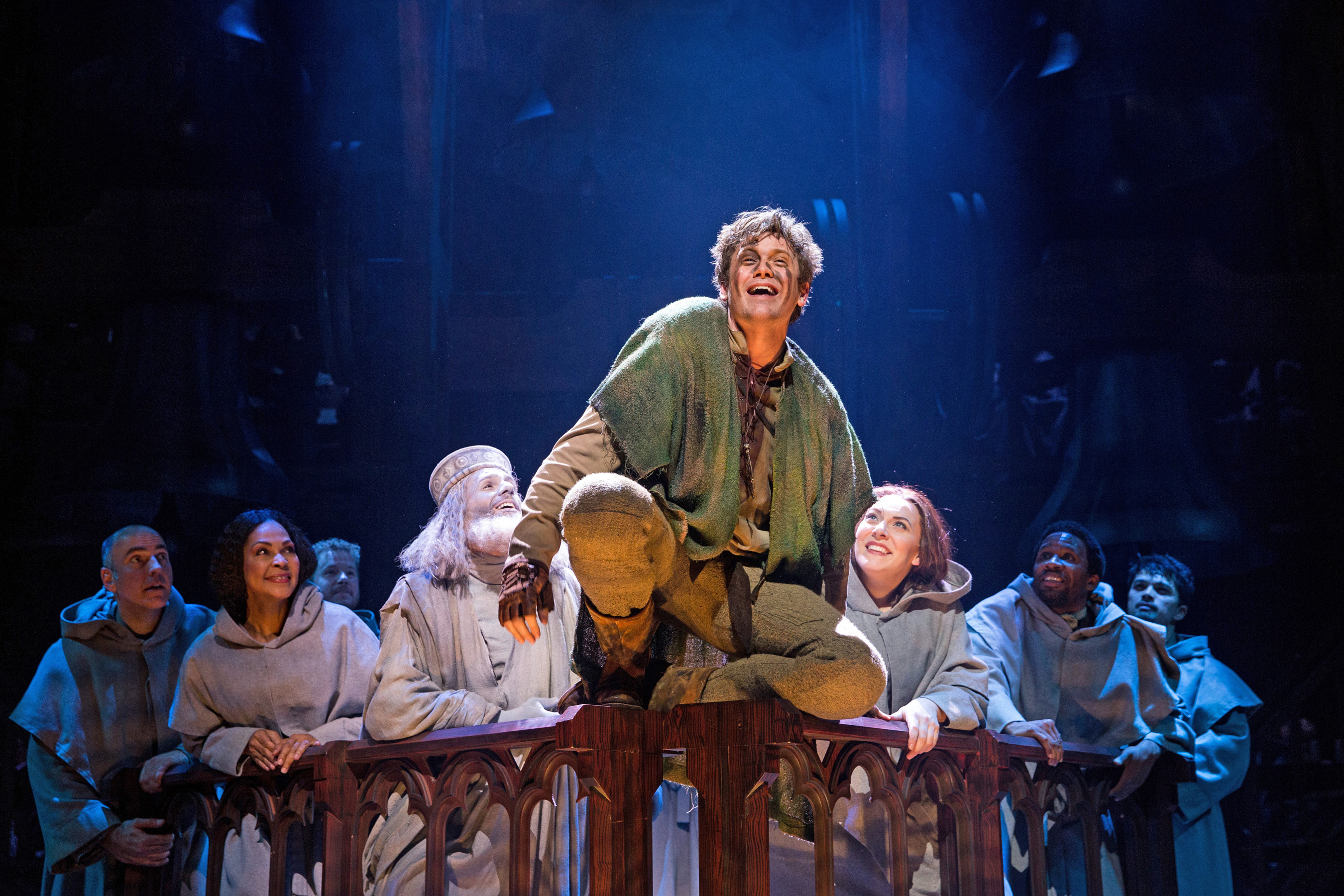 Dramaqueen: David Jakobs als Quasimodo – Foto: Matthew Murphy