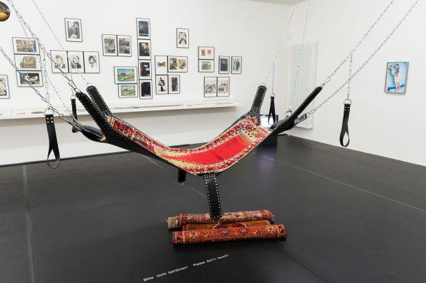 """Ausstellungsansicht """"ğ – the soft g"""", Schwules Museum*,"""