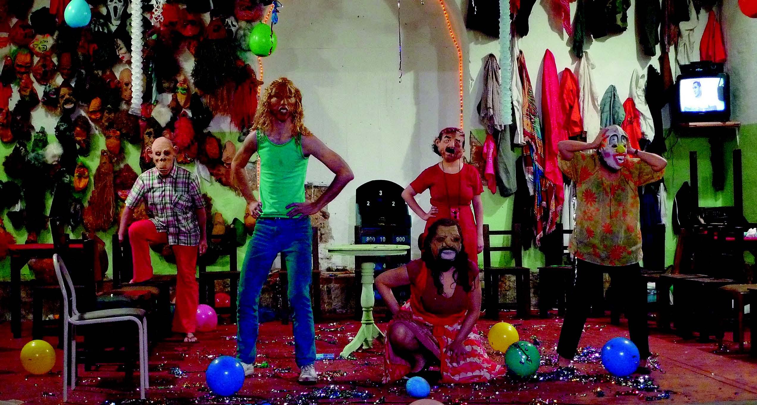 """Ritual und Vertreibung: """"Los Santos Inocentes (Das Fest der unschuldigen Kinder)"""" vom Mapa Teatro – Foto: Mapa Teatro"""