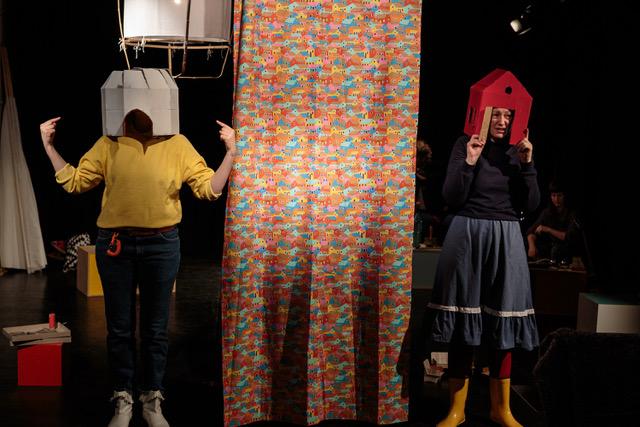 Performance für Kinder: Kollektiv Zirkusmaria – Foto: David Beecroft