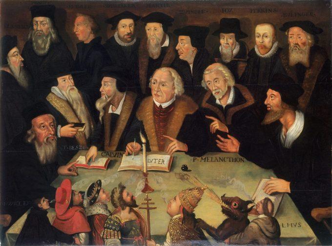 Martin Luther im Kreise von Reformatoren, 1625/1650 © Deutsches Historisches Museum