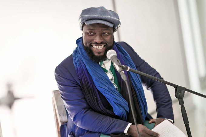 Bonaventure Ndikung, 1977 in Yaoundé geboren, leitet in Berlin gleich zwei AusstellungsorteFoto: MICHAEL SETZPFANDT/ michael@setzpfandt.com