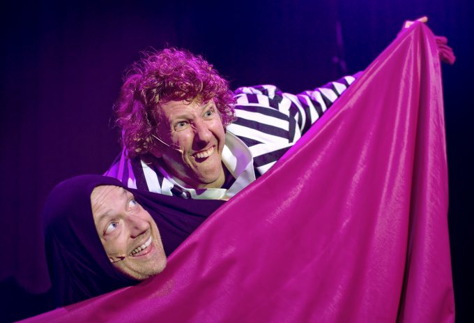 Bitterböse Clowns: Pim Muda, Joost Spijkers – Foto: Tim Klaase