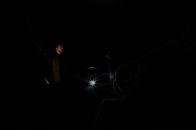 """Ausstellung von Ivana Franke, """"Retreat into Darkness. Towards a Phenomenology of the Unknown"""". Foto: Ivana Franke Studio"""