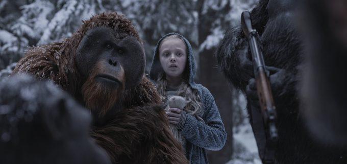 Orang-Utan Maurice und die kleine NovaFoto: 20th Century Fox