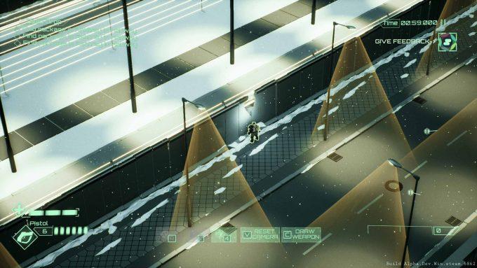 Berlin 2089: ein finstere Dystopie, begleitet von düsteren Techno-Bässe. Und der Spieler soll trotzdem einen kühlen Kopf bewahrenFoto: inbetweengames