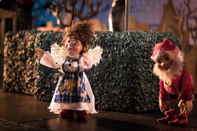 Als der Weihnachtsmann vom Himme lFieFoto: FS Kiko
