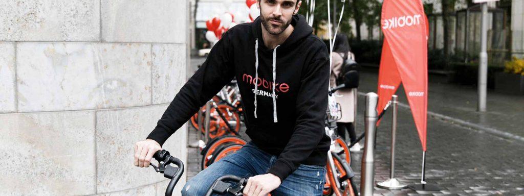Mobike-Chef Chris MartinFoto: Mobike