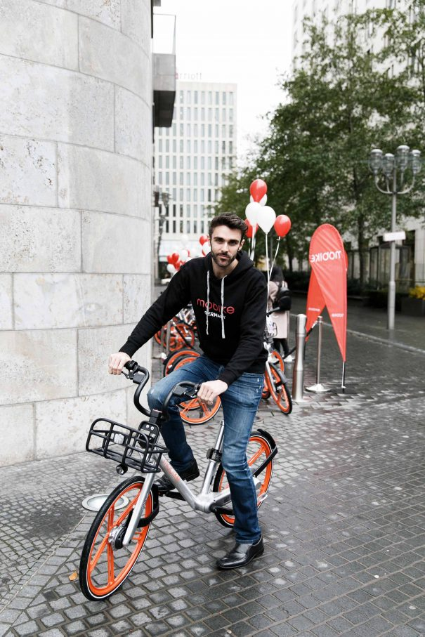 Mobike-Chef Chris MartinFoto: Mobike