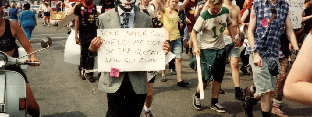 Kunterbunter ProtestFoto: Salzgeber/Christopher Wilde