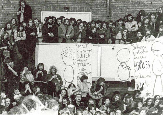 Tunix-Kongress:  Alle Veranstaltungen waren völlig überfülltFoto: Archiv Diethard Küster