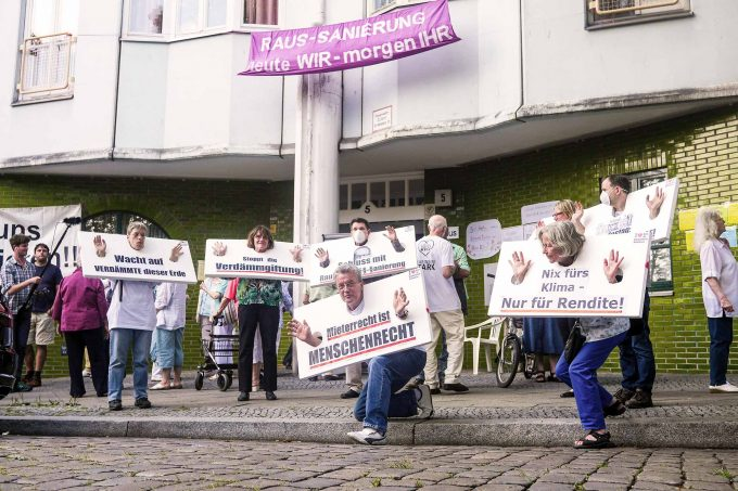 """Protestaktion des Büros gegen Wärmedämmung: """"Mein Frust ist systemischer Natur"""