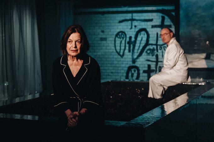 Mehr Meer: Angela Winkler, Joachim Neumann – Foto: Andi Weiland | Theater RambaZamba