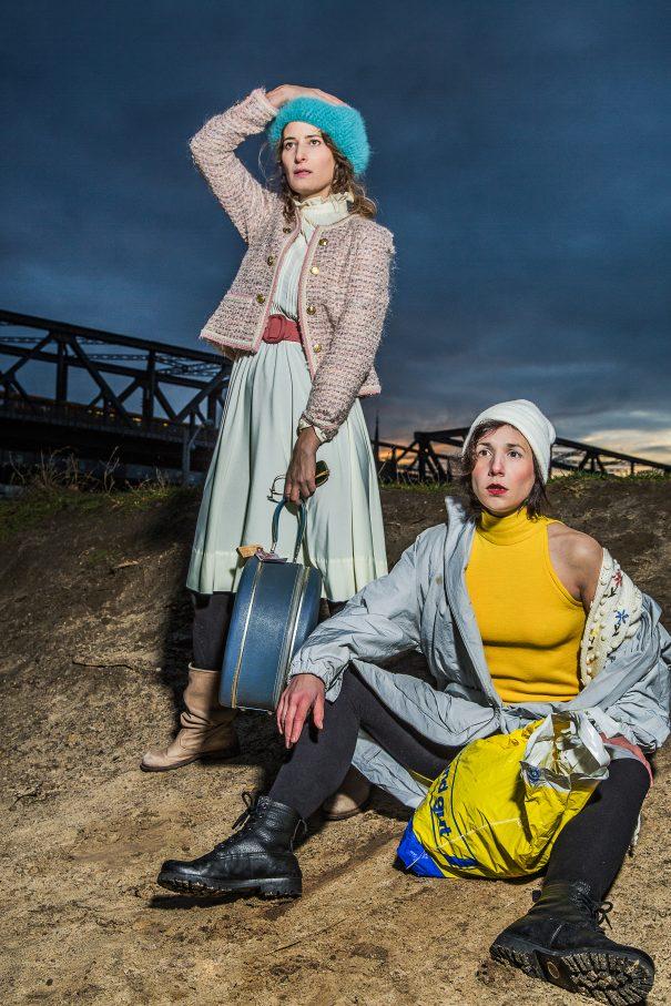 Kampf der Frauen als Generationenporträt:  Stella Hilb, Vidina Popov – Foto: Esra Rotthoff