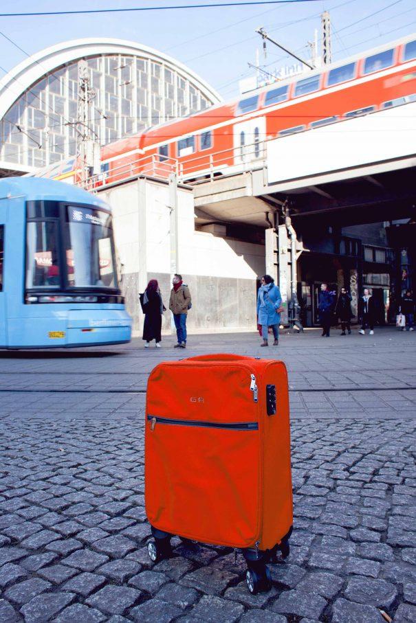Sorgt schnell für erhöhten Puls bei Sicherheitsbehörden: alleinstehendes GepäckFoto: Patricia Schichl